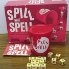 Spill and Spell Dice Word Crosswords Game Parker Brothers 1966 Vintage No Timer