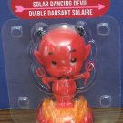 Valentine's Day Solar Dancing Devil Light Activated Decoration - New