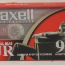 Audio Cassette Tape - Maxell UR90 90 Minute Blank Tape New Sealed Normal Bias