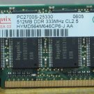 Gateway MA3 Laptop 512MB RAM Memory Hynix PC2700S-25330 DDR 2MA3RM00509