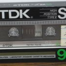 Audio Cassette Tape - TDK SA90 -  90 Minutes New Sealed