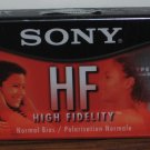 Audio Cassette Tape - Sony HF 90 Minute - New