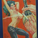 Lust Rack Sleaze Adult Novel - Bill Burd Twilight Reader TR 112 - 1964 Vintage