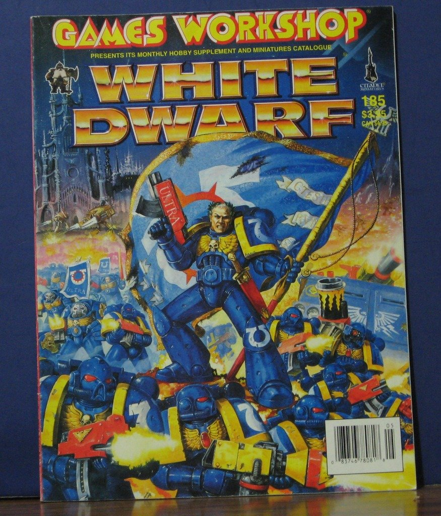 White Dwarf Role Playing Supplement Catalog 185 May 1995 Games Workshop