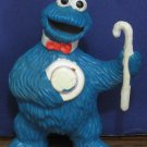 Sesame Street Music in the Park Vaudeville Cookie Monster PVC Figure 1980s Vintage
