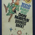 Mad Magazine Don Martin Bounces Back Paperback Book - Signet - 1963 Vintage
