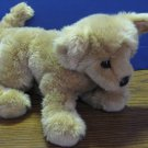 "Douglas Cuddle Toys Brown Plush Puppy Dog - 10"" Long 8"" Tall - Cuddletoys"