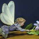Bradford Editions Flower Fairies Porcelain Ornament - Periwinkle Fairy - 2000