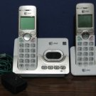 AT&T Cordless Telephone Bundle EL52213 - 2 Handsets and Charging Cradles ATT