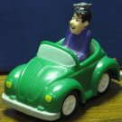 Archie Comics Jughead Jones Green VW Beetle Car Burger King Kid's Meal Toy 1991