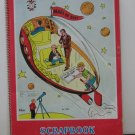Mars or Bust 1950s 1960s Vintage Spiral Scrapbook Newspaper Comic Strips Themed