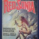 Red Sonja Novel 4 - Endithor's Daughter - Boris Vallejo Cover Ace 1st Print 1982