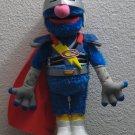 """Sesame Street Super Grover 2.0 Motion Sensing Talking Doll 2011 14"""""""