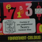 Sentry Neighborhood Hardware Store Metric to English Conversion Tool 1971 Vintage