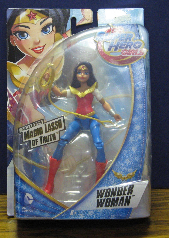 "DC Comics Super Hero Girls Wonder Woman with Magic Lasso of Truth 2015 6"""