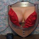 Jingle Jugs Animatronic Disembodied Breasts Trophy Wall Plaque Rodney Carrington 2000