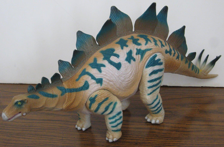 "Geoworld Toys Stegosaurus Action Figure - 15"" Plastic Articulated Dinosaur"