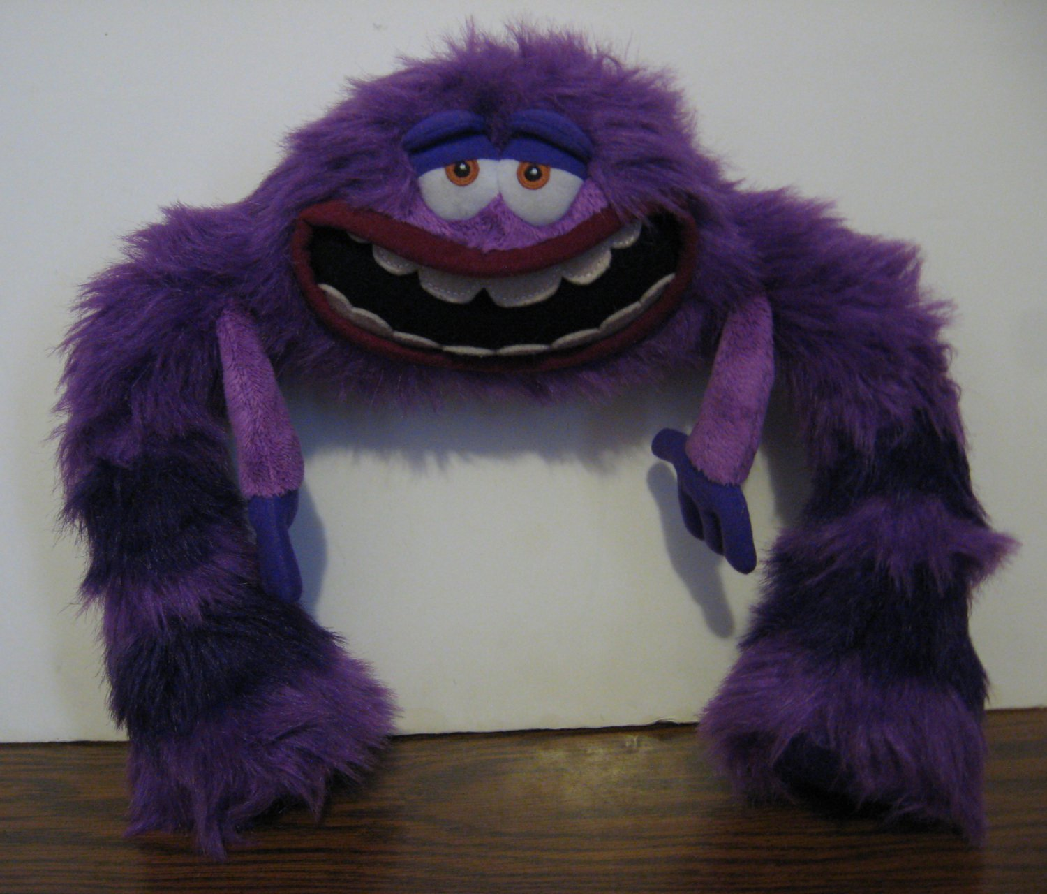 Disney Monsters University Art 12 Plush Purple Monster Pixar
