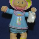"Cabbage Patch Kids Baby with Doll 4"" PVC Figure - 1984 Vintage"