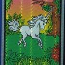 "Unicorn Prism Vending Machine Sticker - 1980s Vintage - 3 1/2"" x 2 1/2"""