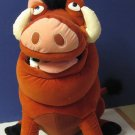 "Disney Lion King Large Plush Pumbaa - 19"" Long / 17"" Tall with Plush Bugs"