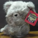 """Happiness Always 8"""" Plush Gray Mouse - 1995 Vintage - Happiness Express"""