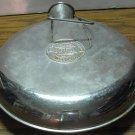 Metal Hot Water Bottle - Portland - 1920s Vintage - Stopper Intact