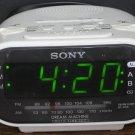 Sony Dream Machine ICF-C318 Alarm Clock AM / FM Radio - White