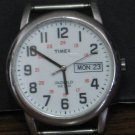 "Timex Indiglo WR30M Men's 1 1/2"" Wrist Watch Works - No Band - Knob Needs Repair"