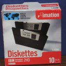 "Imation 3.5"" Floppy Disks 2HD 1.44MB - One Sealed Pack of 10"