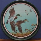 "Avon Metal Collector Tray - Mallards In Flight Chesapeake Collection 12"" - 1981"
