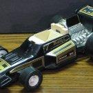 Buddy L Plastic Formula Race Car - Black / Gold - No Windshield - 1980s Vintage