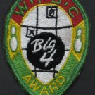 WIBC Bowling Award Sew On Patch Big 4 1960s / 1970s Vintage