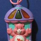 Care Bears Love A Lot Bear Light Up Door / Crib Hanging Music Box - 2004