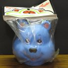 Bear Babies Plastic Blue Bear Doll Head - Darice Craft Supplies - 1984 Vintage
