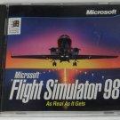 PC CD Game - Microsoft Flight Simulator 98 - 1997 Vintage