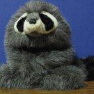 "Plush Baby Raccoon Hand Puppet - Folkmanis - 14"""