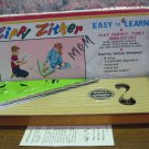 Zippy Zither 12 String Kids' Wooden Instrument Jaymar Specialty J7217 1960s Vintage