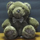 "Chosun Plush Brown Bowtie Wearing Teddy Bear - 10"" - Sitting"