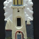 Decorative Ceramic or Similar Light House Light Switch Cover Plate - Lighthouse