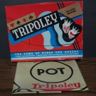 Cadaco Deluxe Tripoley 1955 Vintage - Game Mat and Box Only