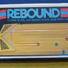 Rebound Shuffle Board Marble Puck Game Ideal Needs New Rubberbands 1980 Vintage
