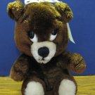 """Dakin Plush Hug Your Buddy Teddy Bear Girl - 10"""" - 1976 Vintage"""