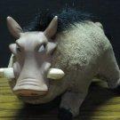 "Disney Lion King Pumbaa Realistic Style 7"" Plush Warthog 1994 Vintage Vinyl Face"