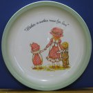 Holly Hobbie Mother Another Name For Love Collector's Edition Plate 1972 Vintage