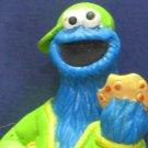 "Sesame Street Cookie Monster Hiphop / Rapper PVC Figure 3"" - Henson - 1990s Vintage"
