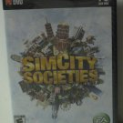 PC DVD Game - Sim City Societies Simulation Game - Electronic Arts - New Sealed