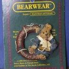 "Boyds Bears Bearwear 2"" Pin - Life Is a Daring Adventure - 1995 Vintage"