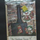 Gingham Goose Full Size Pattern Holly Jolly Snowmen - 3 Piece - 1980 Vintage New