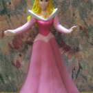 Disney Princess PVC Sleeping Beauty Aurora in Pink Gown Figure / Cake Topper - 3""